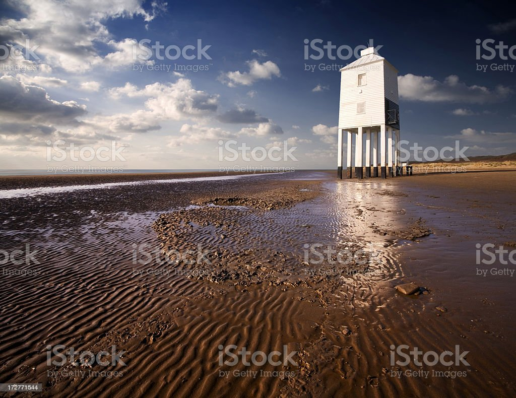 Burnham-on-Sea stock photo