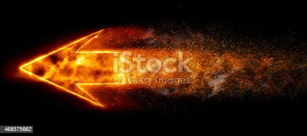 istock Burning Arrow 468375662