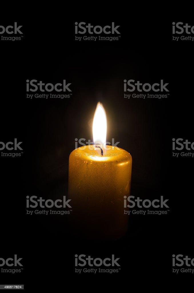 Brennende Kerze – Foto