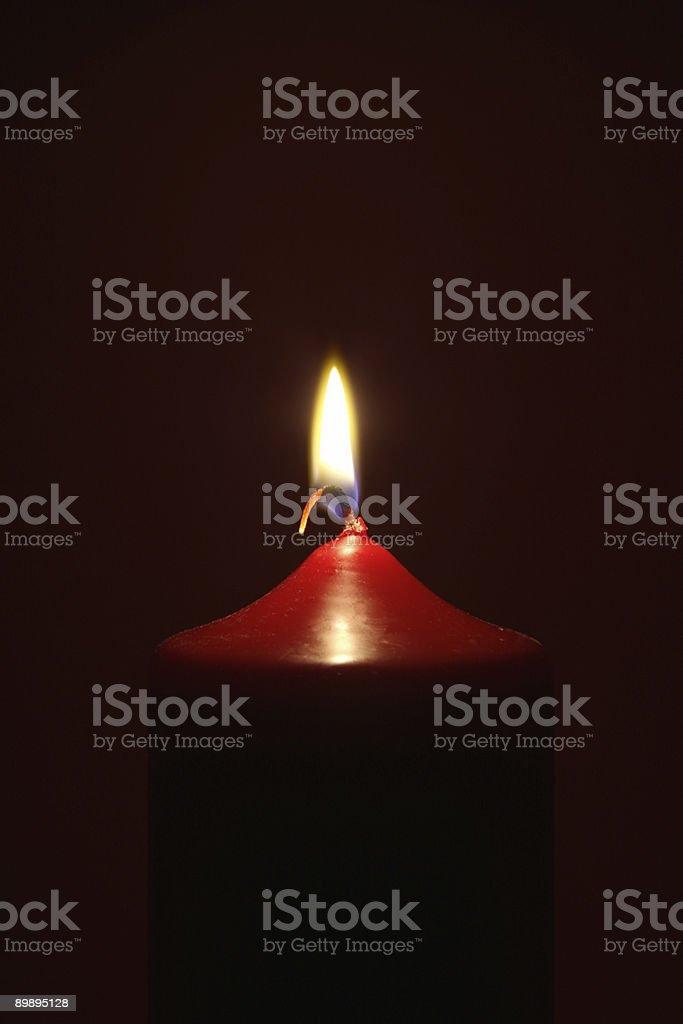 Quema de velas foto de stock libre de derechos
