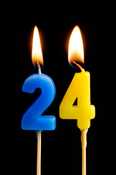 Top 24th Birthday Candles Pictures Images And Stock Photos