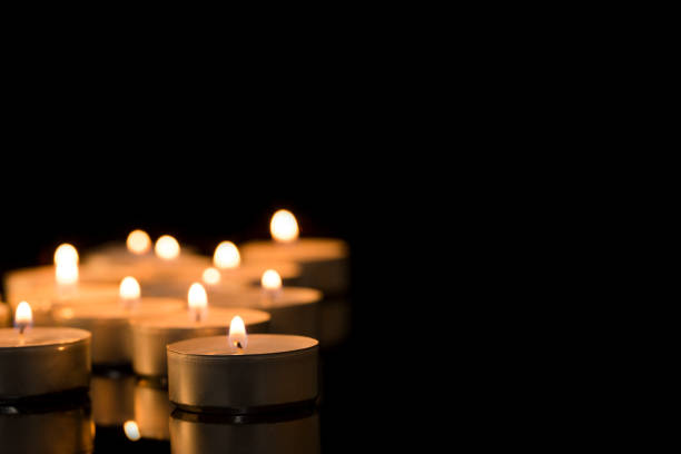 Burning candles Burning candles religious symbol stock pictures, royalty-free photos & images