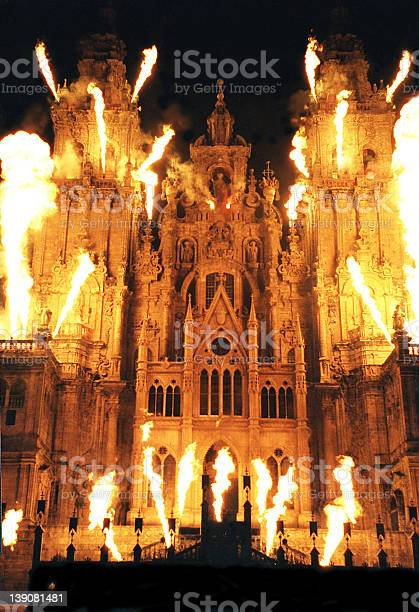 Burning Cathedral