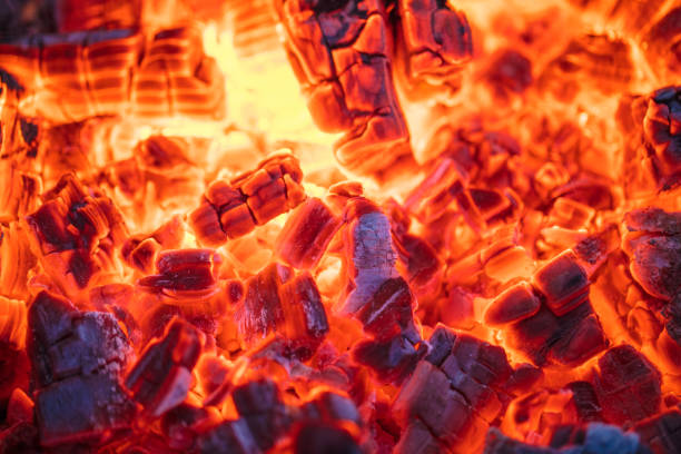 burning charcoal - burning stock pictures, royalty-free photos & images