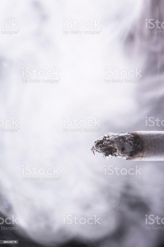 Burning Cigarette royalty-free stock photo