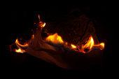 Fire - Natural Phenomenon, Flame, Igniting, BurningEmber, Paper