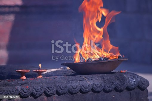 Flame, Kathmandu, Nepal, Pashupatinath, Hinduism, Religion, Sacred place