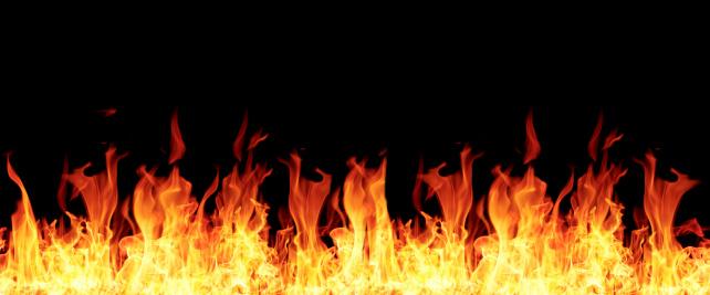 istock Burning fire 450713205