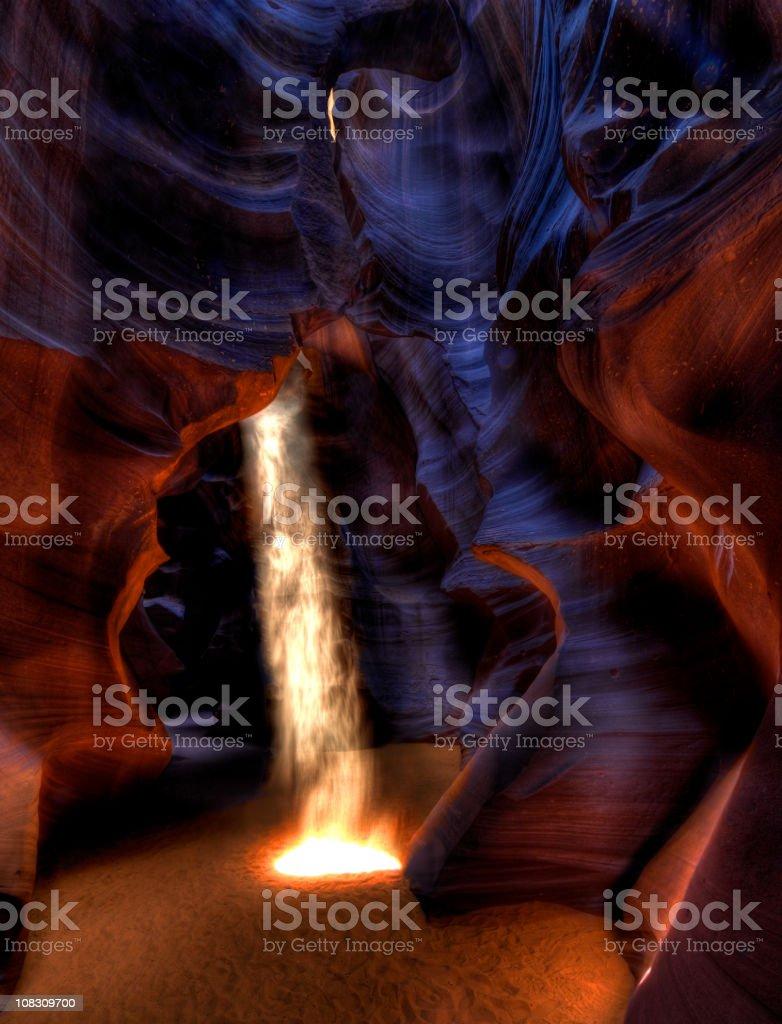 Burning hell royalty-free stock photo