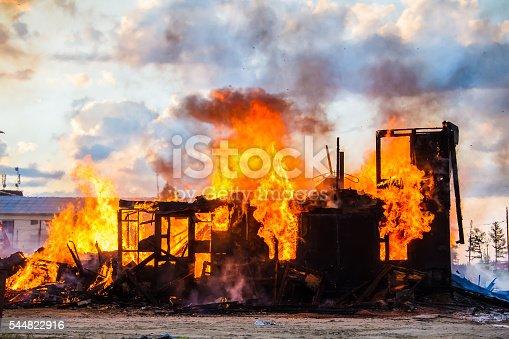 istock Burning house 544822916
