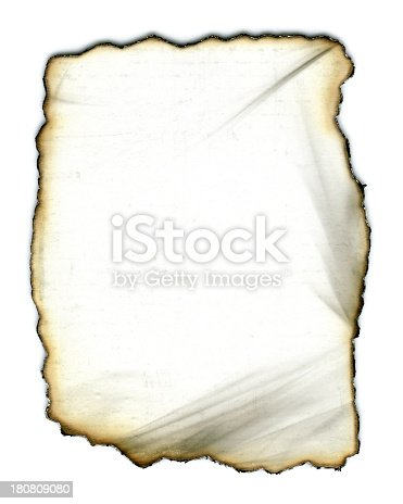 155277575istockphoto Burning paper textured background isolated on white 180809080