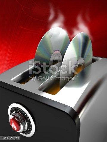 istock DVD burning toaster 181126971