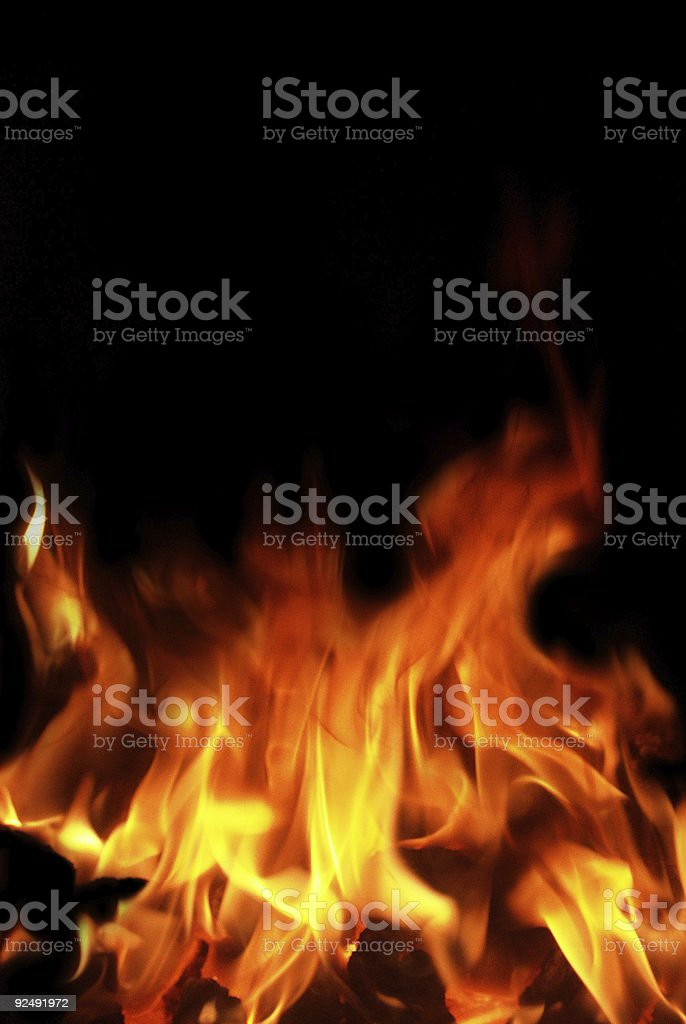 Burning Up royalty-free stock photo