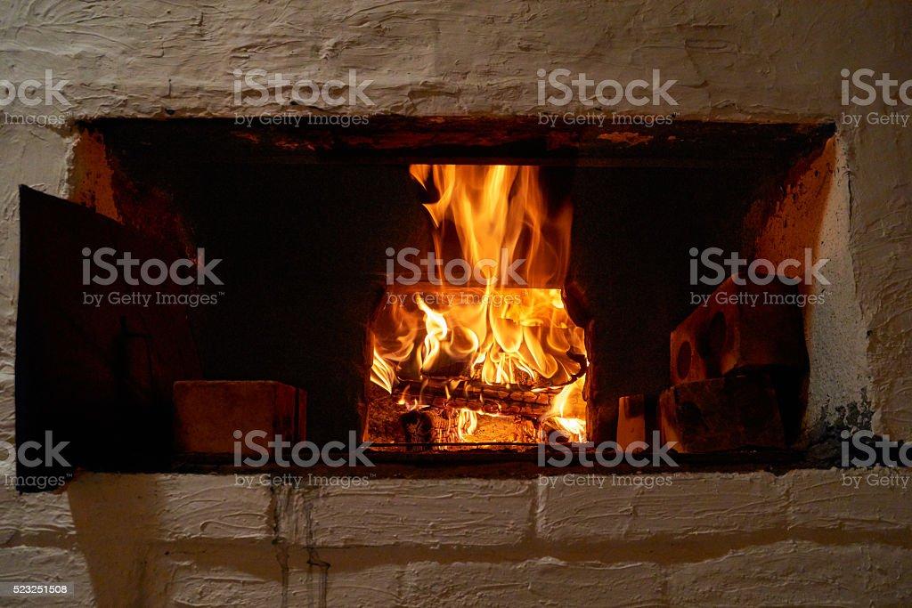 огонь в печи синонимы