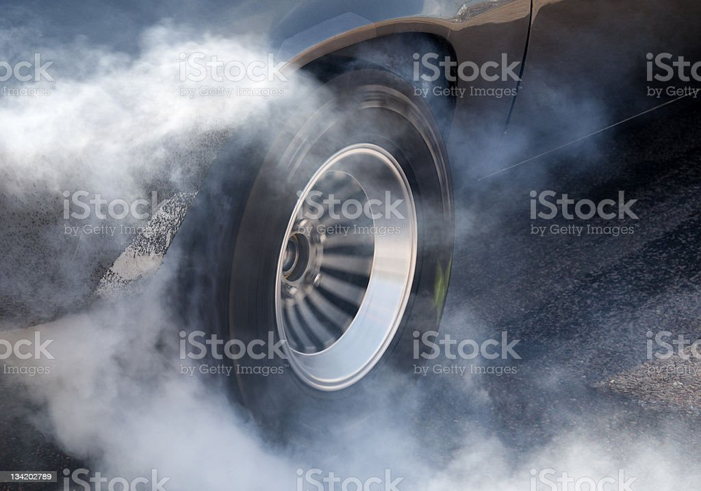 Burnout stock photo