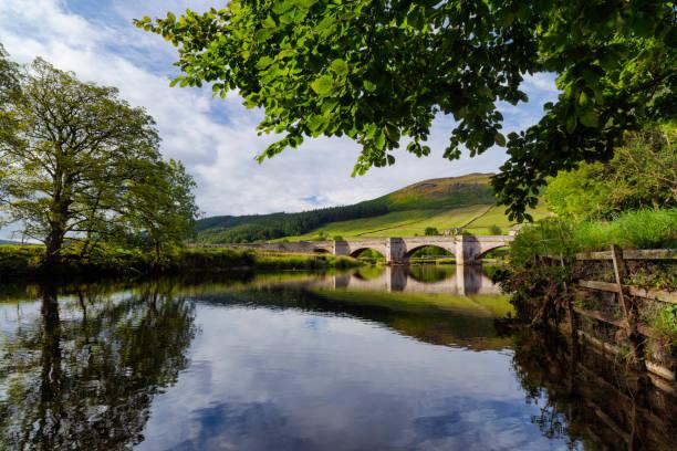 Burnsall Bridge In The Yorkshire Dales stock photo