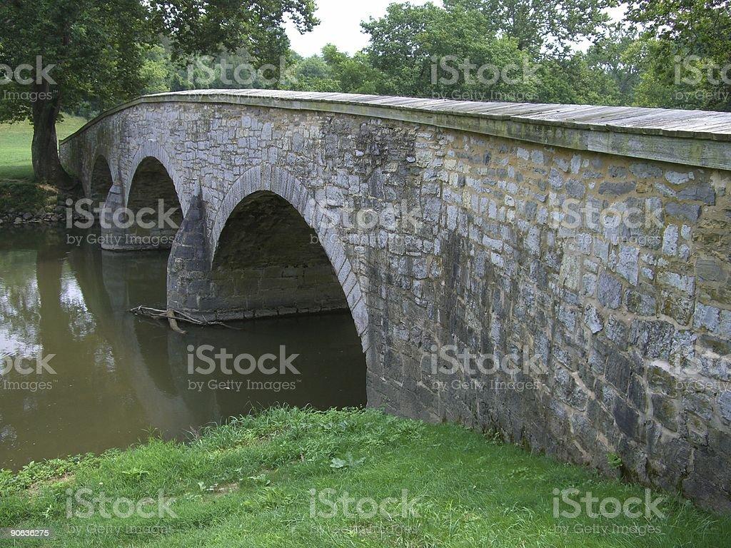 Burnside Bridge stock photo