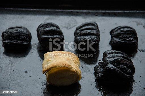 istock burnt dough 490550510