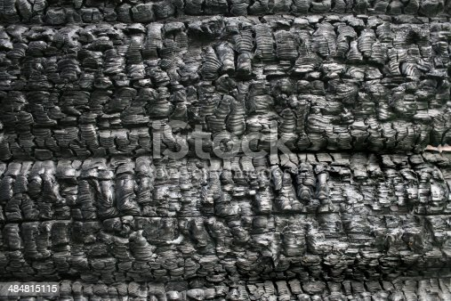istock burnt down wooden wall 484815115