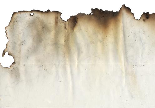 Paper with burnt edgeMore burnt edges: