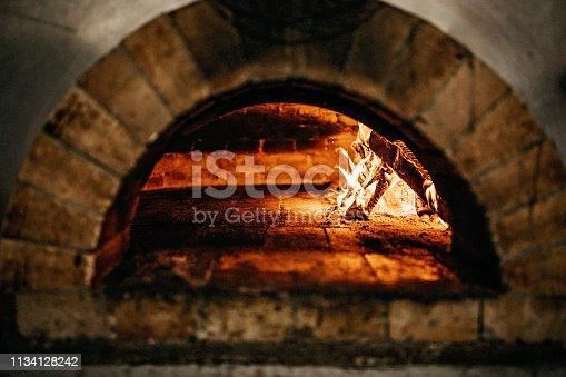 874991150 istock photo Burnt oven 1134128242