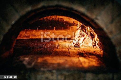 874991150 istock photo Burnt oven 1134128768
