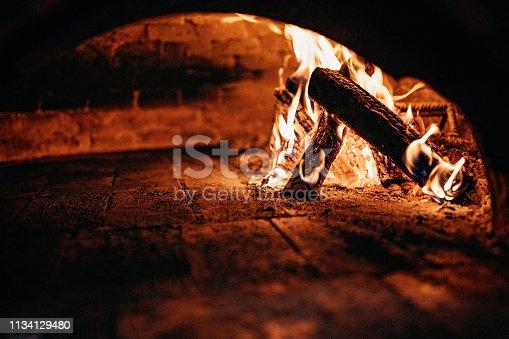 874991150 istock photo Burnt oven 1134129480