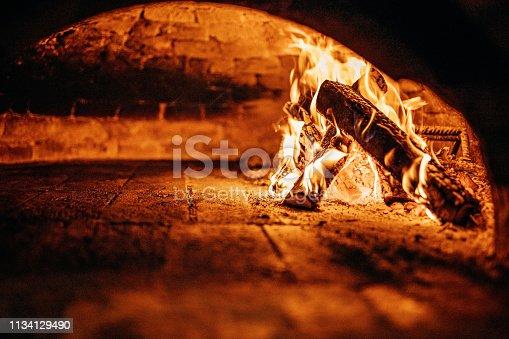874991150 istock photo Burnt oven 1134129490