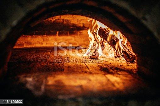 874991150 istock photo Burnt oven 1134129500