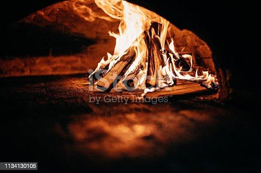 874991150 istock photo Burnt oven 1134130105