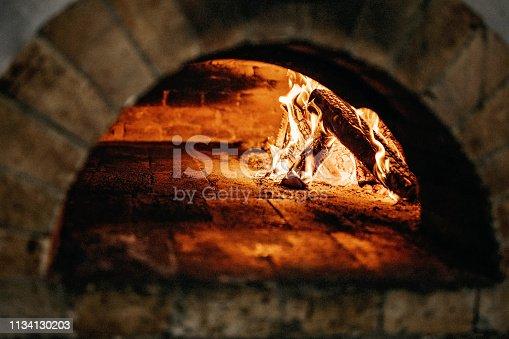874991150 istock photo Burnt oven 1134130203