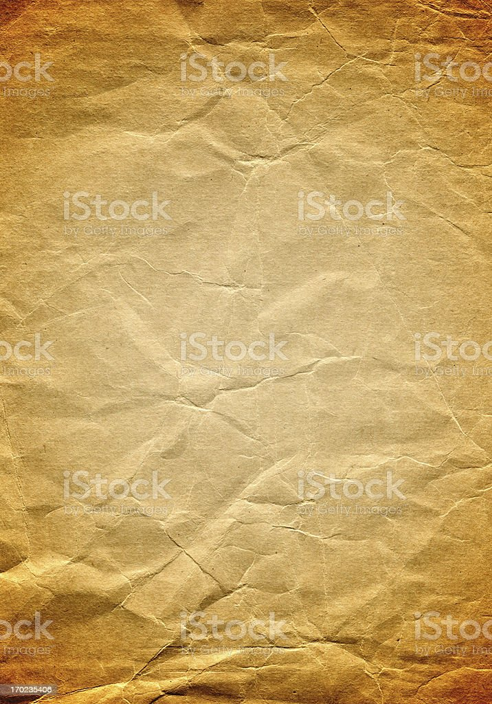 Burnt Paper Background stock photo