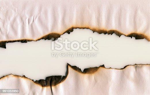 Burnt Paper frame background