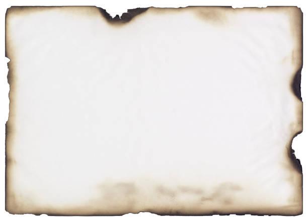 quemado papel - quemar fotografías e imágenes de stock