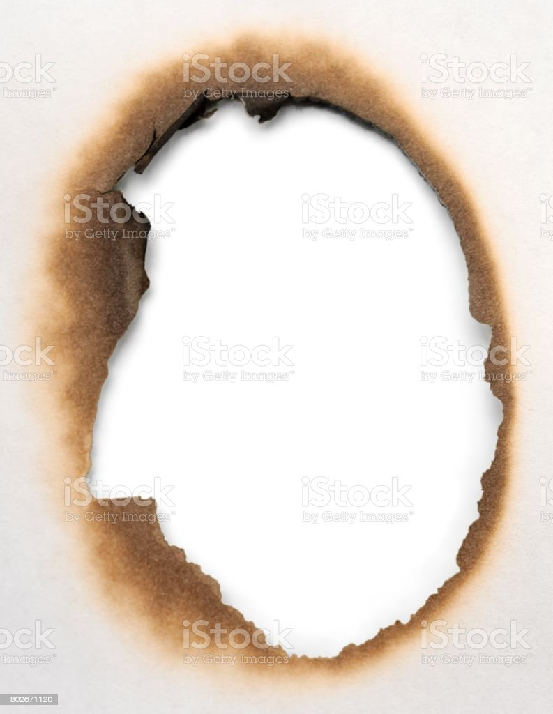 Burnt. stock photo