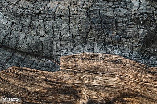 Full frame image of burnt wood for background.
