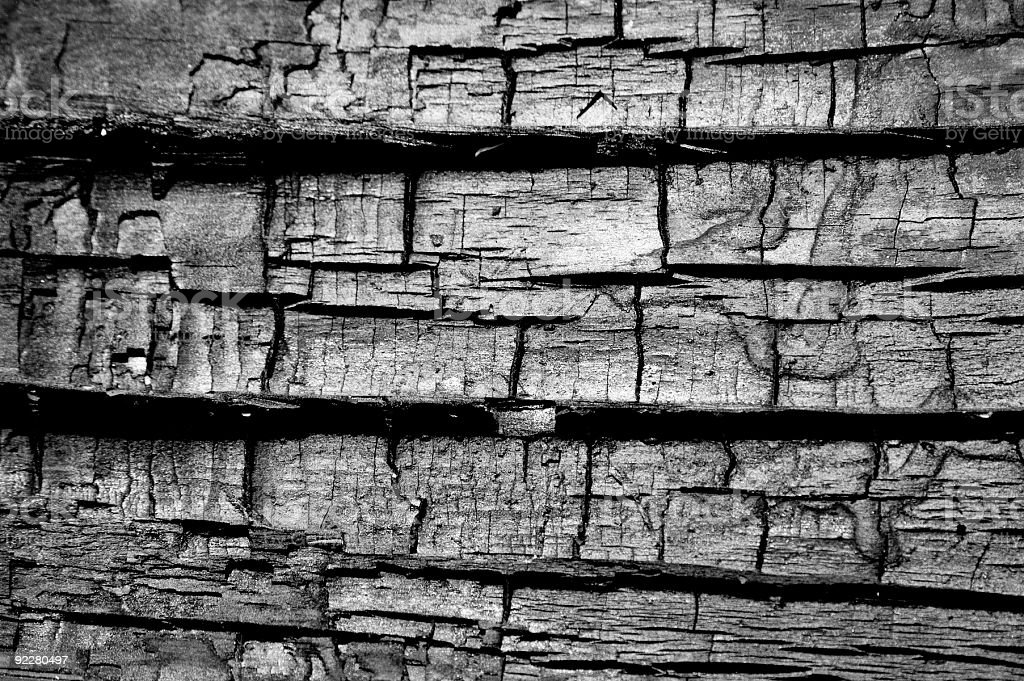 Burnt Wood Texture 2 stock photo