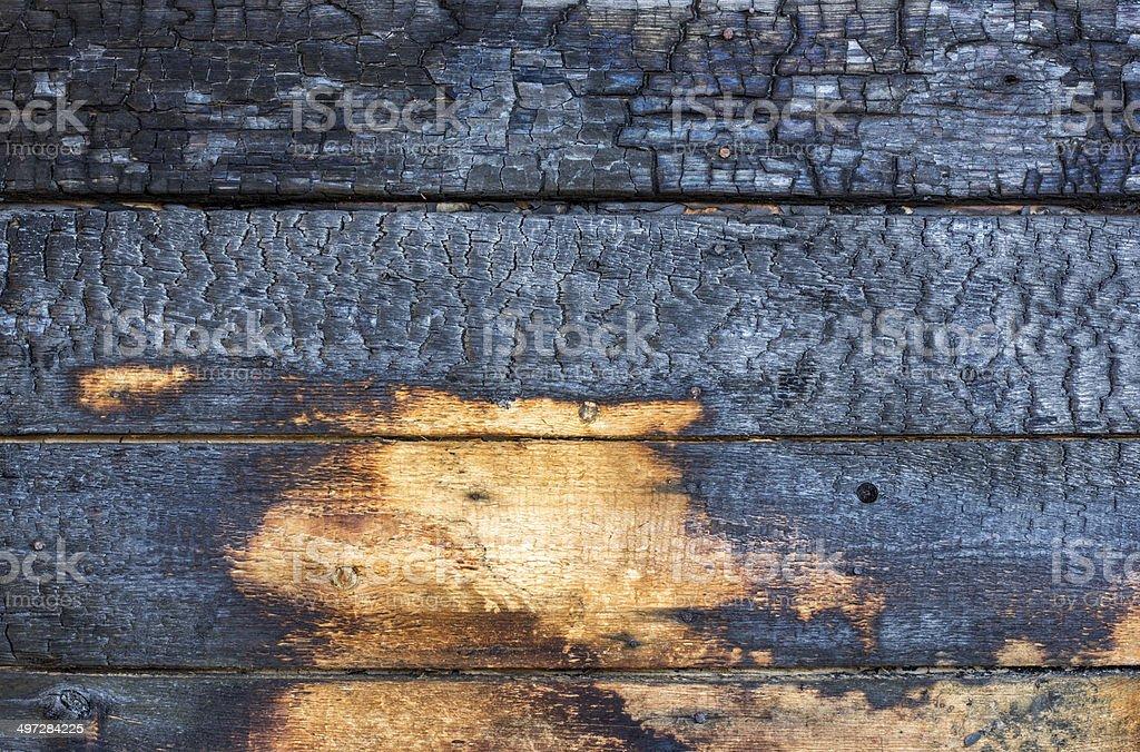Burnt Holz Bretter – Foto