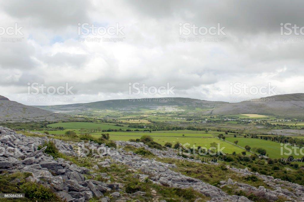 burren area stock photo
