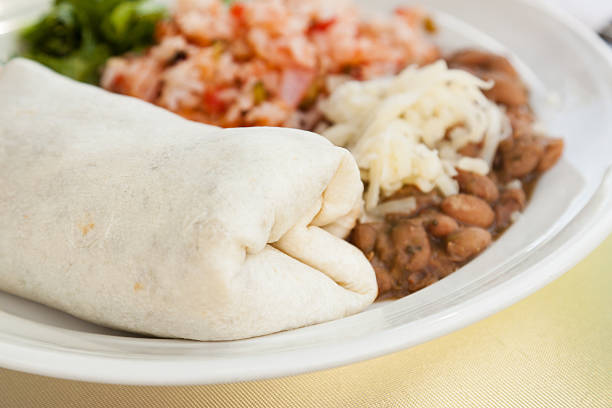 Burrito stock photo