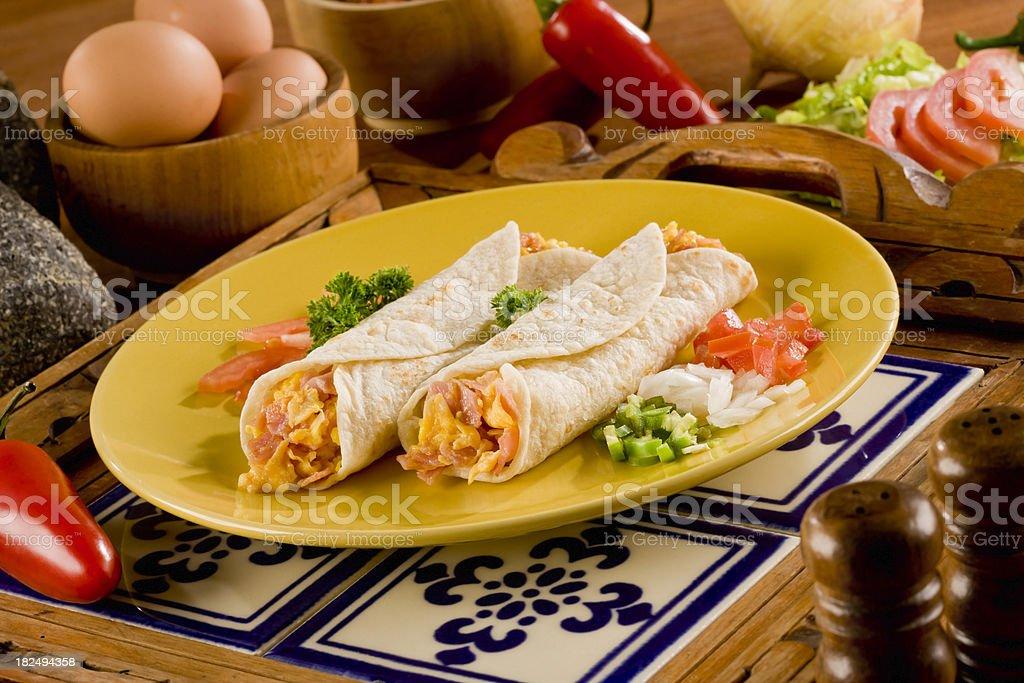 Burrito stock photo