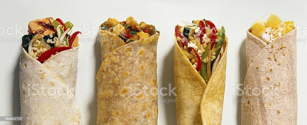 Burritos royalty-free stock photo