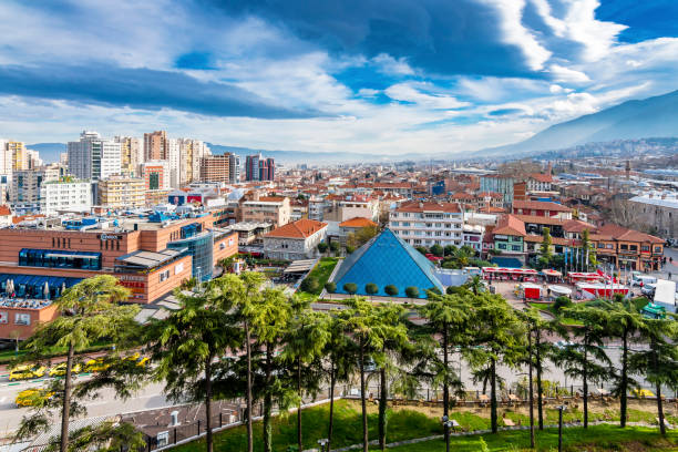 Bursa City, Turtkey stock photo