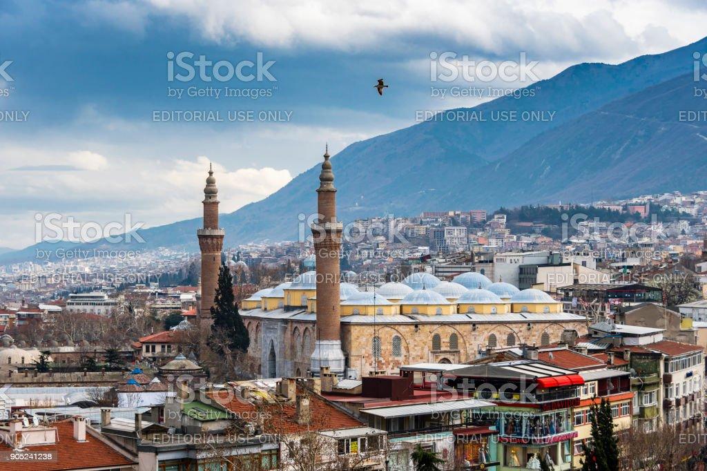 Bursa City, Turtkey stock photo