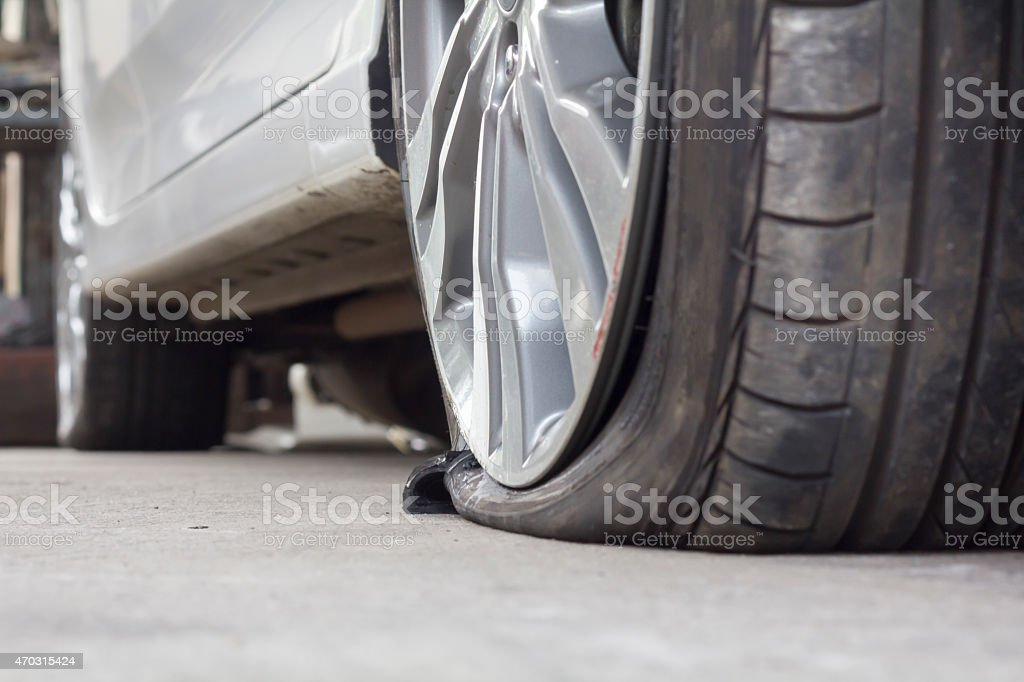 Folge Reifen Auto – Foto