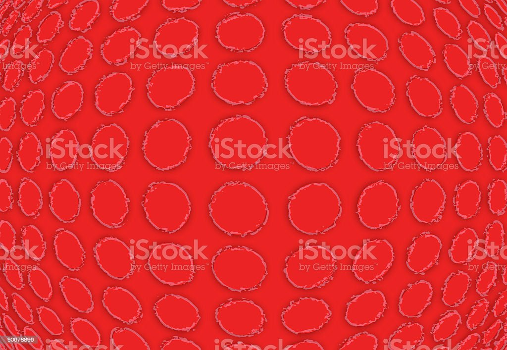 Burstin' Red royalty-free stock photo