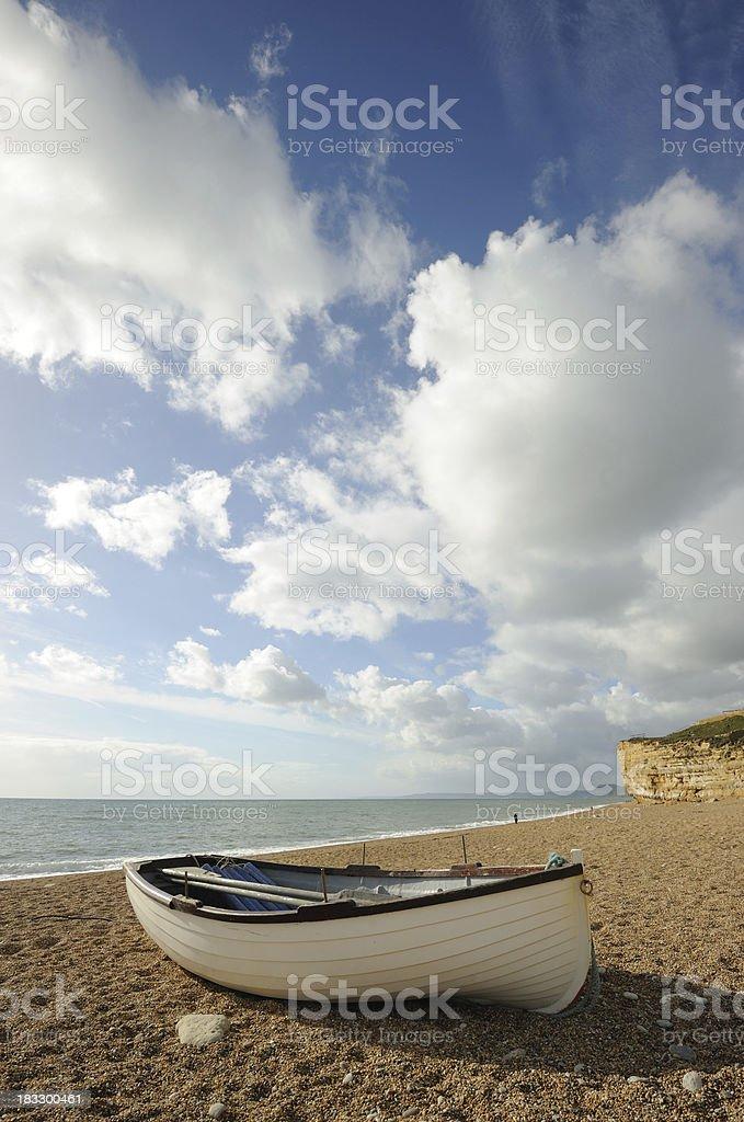 Burton Bradstock Beach royalty-free stock photo
