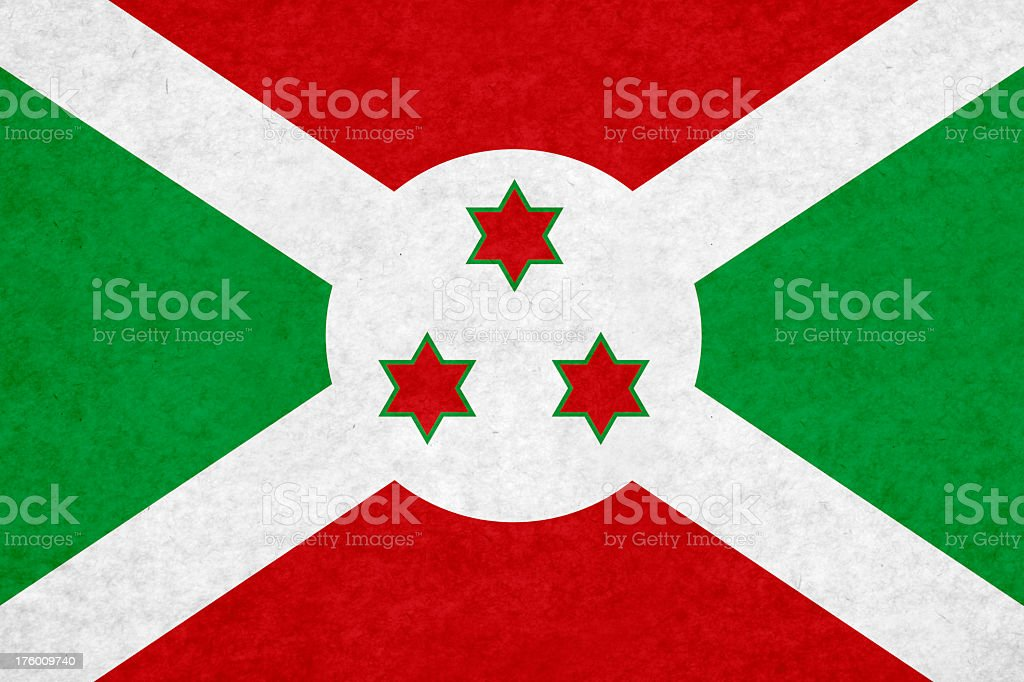 Burundi flag royalty-free stock photo