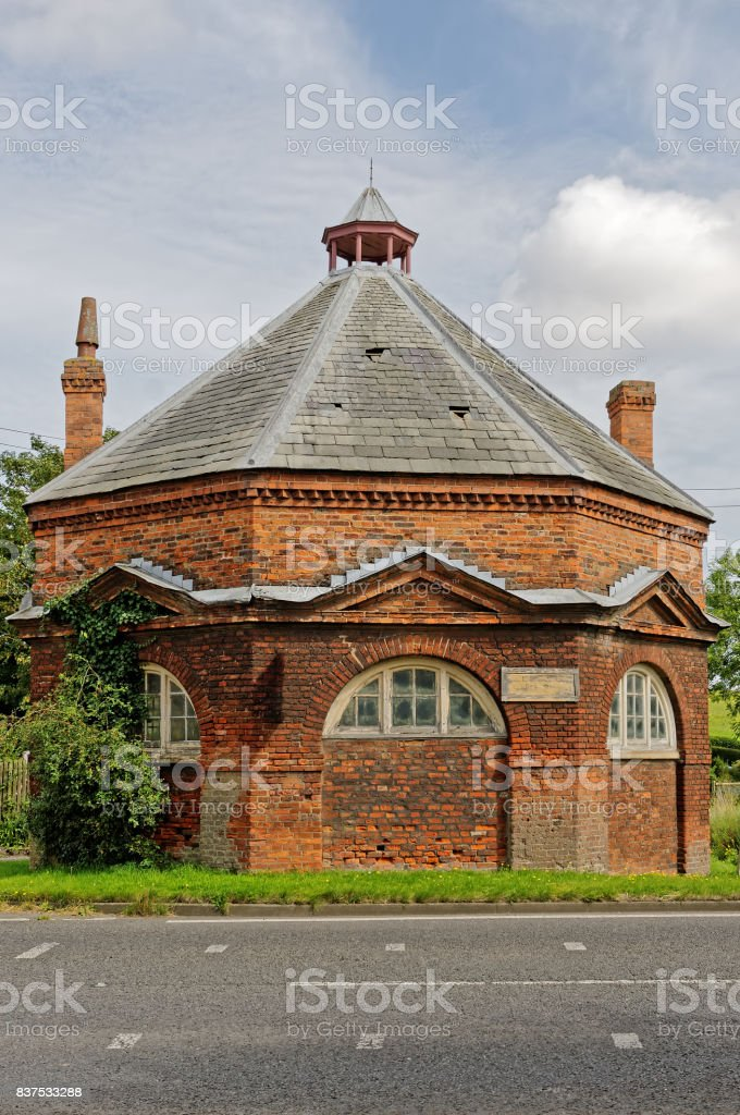 Burwell Buttercross, Lincolnshire,UK stock photo