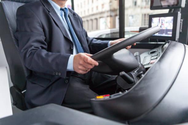 バスドライバ - バス ストックフォトと画像